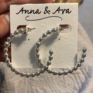 Anna & Ava Hoop Earrings